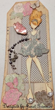 Prima Doll Tag ♡ by HeavenlyMoments on Etsy, $5.00