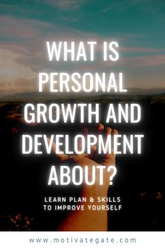 Personal a.k.a self-development and personal growth is easily perceived as a rigorous work of modifying one's self. The idea is often accompanied by the assumption that it is not valid as such but should grow somehow better. Do you know yourself? I mean REALLY. Namely, self-development starts with knowing your goals and dreams. Does self-development then always mean that we have something wrong or flaw that should be changed for the better or corrected somehow?