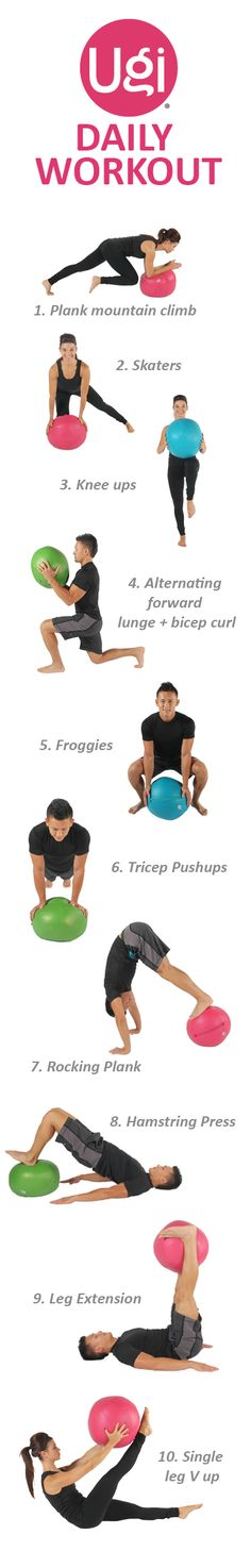 Daily #Workout with #Ugi®!