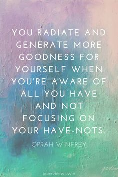 These beautiful quotes from Oprah will remind you to appreciate all that you have in life! #gratitude #quotes #oprah #wellnessthatworks Gratitude Jar, Practice Gratitude, Attitude Of Gratitude, Gratitude Quotes, Gratitude Journals, Me Quotes, Motivational Quotes, Inspirational Quotes, Monday Morning Quotes