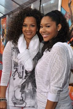 Lisa Raye and 19 year old daughter Kaienja