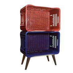 Quitanda Chita - Duas Vermelha e Azul