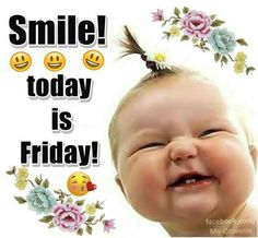 We have 50 Friday images, greetings, wishes and quotes to help you celebrate you Friday with style! These Friday images with quotes will be perfect for any mood you have! Friday Morning Quotes, Happy Friday Quotes, Good Morning Friday, Funny Good Morning Quotes, Weekend Quotes, Good Morning Greetings, Good Morning Good Night, Funny Quotes, Tgif Quotes