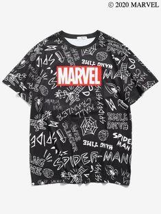 #aff Cool Spiderman T-Shirt      #tshirts #cool #onlineshopping #shoppingideas Sweat Shirt, Strange Marvel, Doctor Strange, Logo Marvel, Spiderman, Salopette Short, Animal Graphic, Mini Robes, Robes Midi