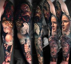 mary jesus angel #tattoo