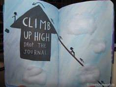 Wreck this Journal - Climb up high drop the journal