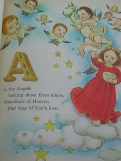 The Christmas ABC Vintage Little Golden Book by TheVintageRead