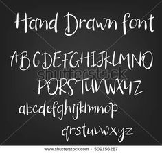 Vector hand drawn calligraphic font. Handmade calligraphy tattoo alphabet. ABC.English lettering: lowercase, uppercase. Script, handcrafted letters.