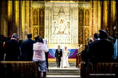 Sherborne Abbey in Dorset is a pretty grand place to get married -