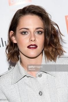 Actress Kristen Stewart attends the 2016 Film Society Of Lincoln Center Luncheon at Scarpetta on January 5, 2016 in New York City.