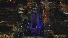 LA Turns Purple for Prince | Los Angeles City Hall