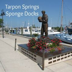 Tarpon Springs Sponge Docks - this is a fun time.... you can even catch a dolphin sightseeing boat from here or just go stroll down the main road and visit the numerous little quaint shops or just eat some OPA OPA yummy greek food