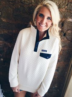 Patagonia Women's Cotton Quilt Snap-T Pullover- Toasted White from Shop Southern Roots TX