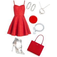 A fashion look from October 2014 featuring cocktail dresses, aldo shoes and kate spade handbag. Browse and shop related looks.