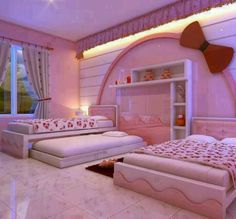The 53 best Cute little girls rooms images on Pinterest | Curtains ...