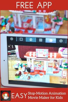 How to Make LEGO Stop Motion Animation Movies With a FREE App