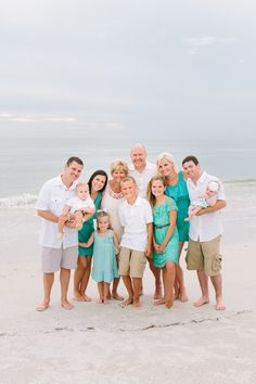 If you are going to do white in your portraits by the beach.. add some color!!!