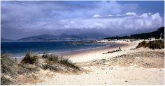 Ria de Vigo. Playa de Samil.