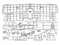 Breguet XIV - plan thumbnail