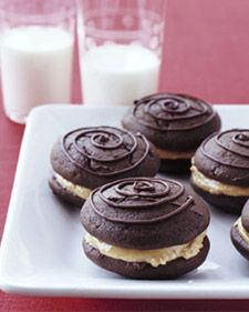 Peanut Butter Whoopie Pies... I think I know my next baking project!