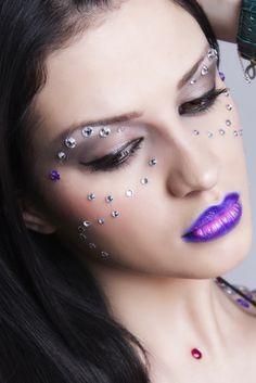 Discoteque - Model: Valentina Valentine Johns Panfil MUA: Ross Make Up Artist