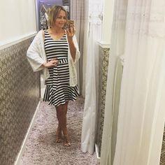 No provador da @mariafilo do @iguatemifortaleza. O vestido tem a modelagem perfeita! ❤️ #andreafialho #estiloandreafialho #estiloiguatemi #mariafilofortaleza