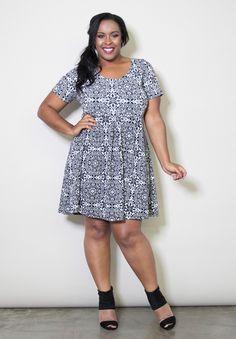 Plus Size Dresses | Alison Dress | Swakdesigns.com