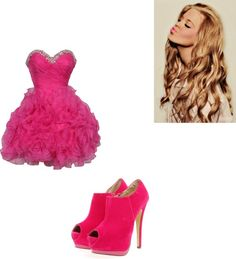 """Prom"" by iconic-macbarbie07 ❤ liked on Polyvore"