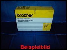 Brother TN-03Y Lasertoner Yellow / Gelb, -B  - für Brother HL-2600 C / CN Series    Zur Nutzung für private Auktionen z.B. bei Ebay. Gewerbliche Nutzung von Mitbewerbern nicht gestattet. Toner kann auch uns unter www.wir-kaufen-toner.de angeboten werden.