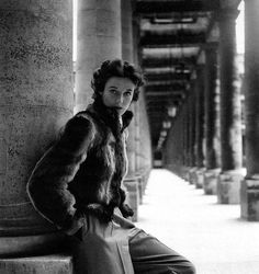 Babe Paley modeling in Paris. Photo by Clifford Coffin. British Vogue, December 1946.