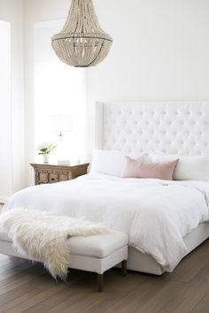 Blanco Interiores: Quando o branco domina o quarto!