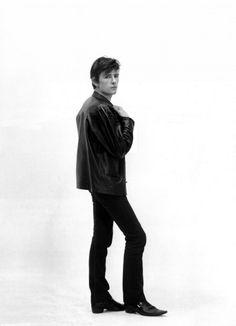 Stuart Sutcliffe, the fifth Beatle. Taken by Astrid Kirchherr.