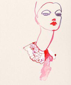 painted lady, by Kat Heyes