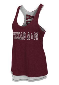 Texas A&M Aggies Womens Tank Top http://www.rallyhouse.com/shop/texas-am-aggies-womens-tank-top-maroon-texas-am-duo-sleeveless-shirt-15033072?utm_source=pinterest&utm_medium=social&utm_campaign=Pinterest-TexasAMAggies $34.99