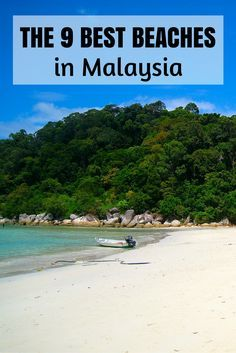 The beaches in Malaysia are sneaky good. Solid list with more good beaches close to the ones in this post.