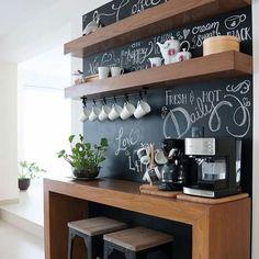 Antes y después: Coffee bar - Un rincón para el café