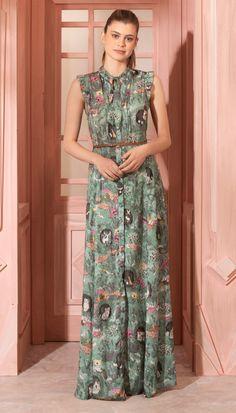 1925ded8c 64 melhores imagens de Vestido com fenda | Evening dresses, Formal ...
