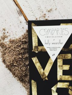 KELLY WEARSTLER X COMPARTES | L'AMOUR. Dark Chocolate Balsamic Sea Salt