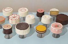Small wedding cakes via Martha Stewart Weddings