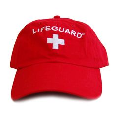 This Officially Licensed product from Lifeguard, features the embroidered Lifeguard logo on a true red baseball cap. One size fits most with this 100-percent cotton cap. Perfect for long days in the s