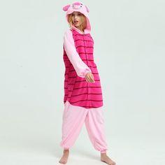 fdd6c8c9b70 Winnie the Pooh   Tigger   Piglet   Eeyore Onesies for Adult Kigurumi Pajama