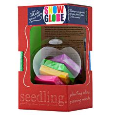 Make Your Own Snow Globe. Seedling\GREAT brand!