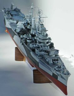 USS Pittsburgh CA-72 350 ISW (modelshipgallery) 7.30.15 Thu