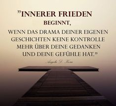 Innerer Frieden beginnt, wenn das Drama Deiner eigenen Geschichte keine Kontrolle mehr über Deine Gedanken und Deine Gefühle hat!    Finde heraus, wie das gehen kann:  www.ulrikeduke.de