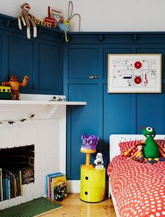 Cute, colourful and creative kids' rooms from the TDF archives.