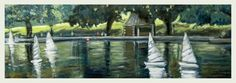 Buy Conservatory water, Central Park, NY., Oil painting by Javier Infantes on Artfinder. Discover thousands of other original paintings, prints, sculptures and photography from independent artists.
