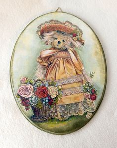 Decoupage, Projects To Try, Hangers, Tableware, Vintage, Licence Plates, Clothes Hanger, Dinnerware, Clothes Hangers