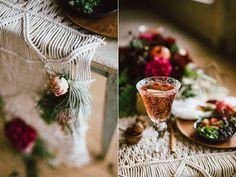 modern wedding ideas - photo by Cluney Photo http://ruffledblog.com/cinco-de-mayo-wedding-inspiration-with-macrame