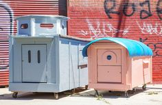 gregory kloehn repurposes trash into vibrant houses for the homeless