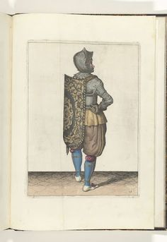 De exercitie met de targe en rapier no. 13 (1618)